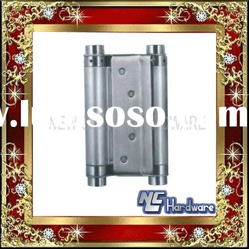 stainless steel double action glass door hinge