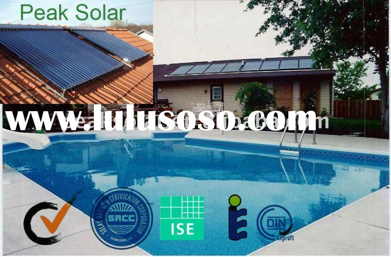 Swimming Pool Solar Water Heater Compact Vacuum Tube Solar Products For Sale Price China