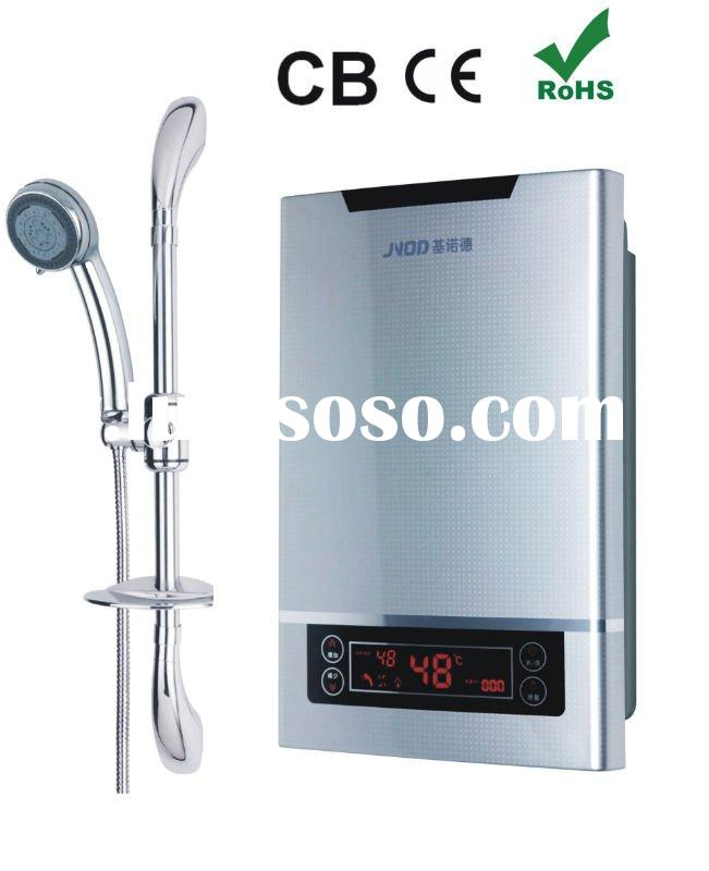 tankless hot water heater with LED and digital display
