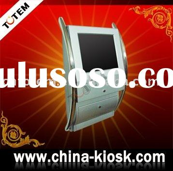 totem wall mounted touch screen kiosk