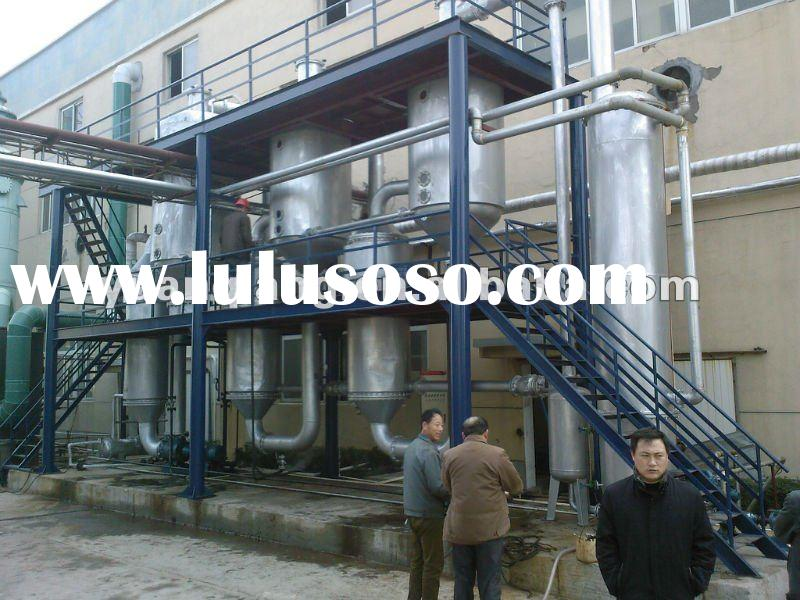 triple-effect vacuum rising film evaporator