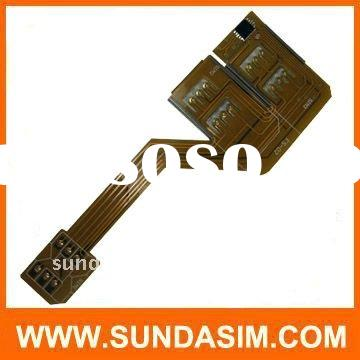 triple sim card for mobile phone