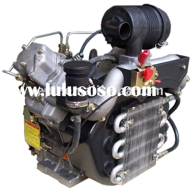 DLE-170 Twin Cylinder Petrol Engine for airplane model rc