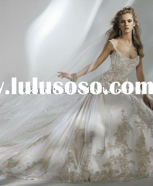 Swarovski crystal wedding dress for sale price china for Crystal design wedding dresses price
