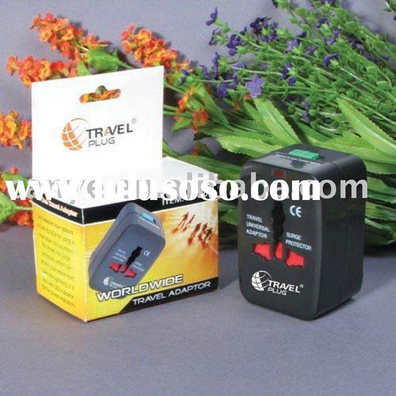 universal travel power adaptor/all in one travelling adaptor/power adaptor/ac travel adaptor