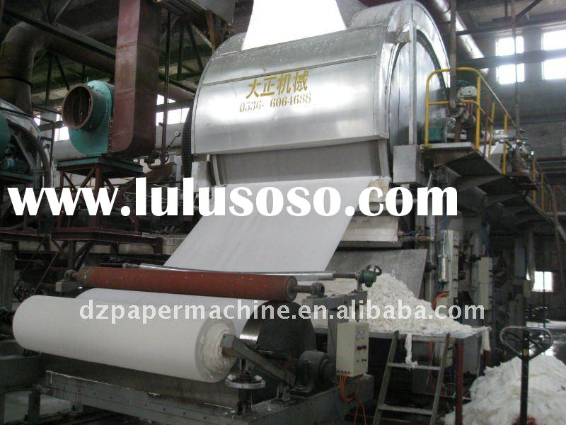 various series high speed toilet paper machine