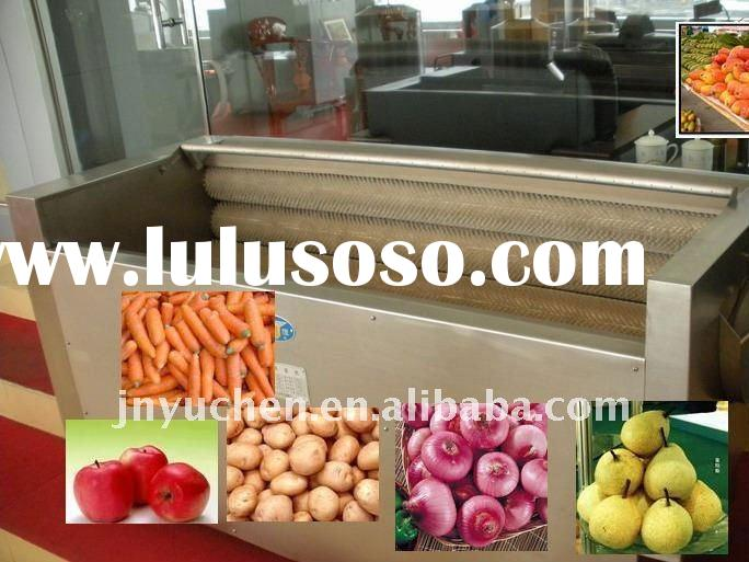vegetable and fruit washing machine potato mushroom processing machine