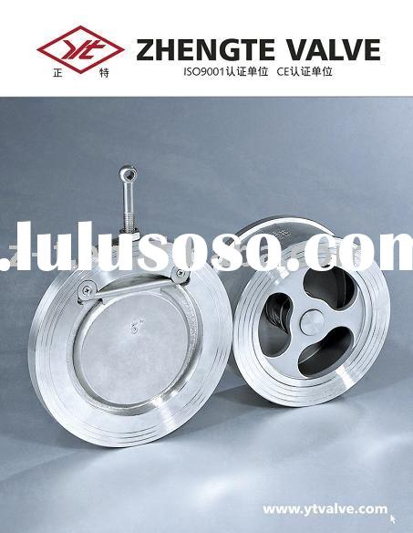 wafer check valves swing type and disc type (carbon steel and stainless steel)