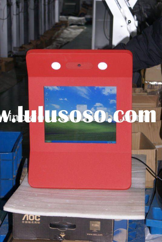 wall mount touch screen with calendar;wall mount interactive kiosk;wall mounted touch screen kiosk
