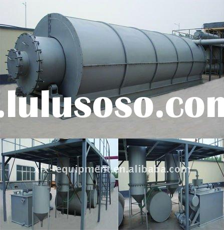 waste management system---plastic& tyre recycling and pyrolysis machine