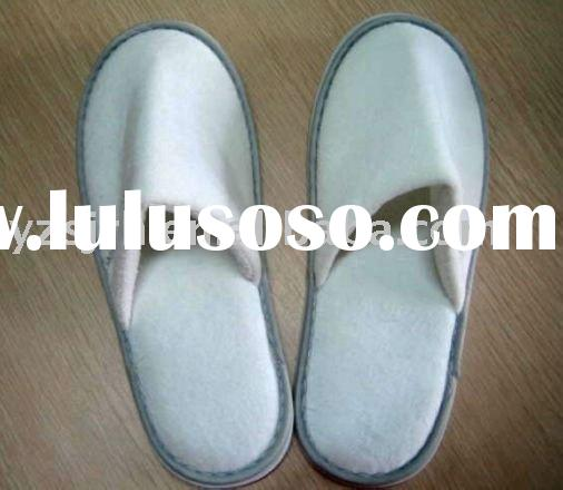 white terry/waffle/non-woven EVA slipper,hotel disposible slippers,Service Equipment,hotel supplies,