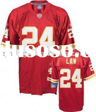 wholesale! 2010-2011America football jersey,Law#24,cheap price,high quality