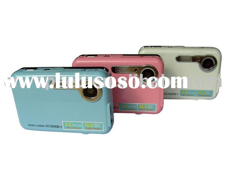 wholesale low price Digital camera 5.0 megapixels CMOS lens 2.4-inch LCD