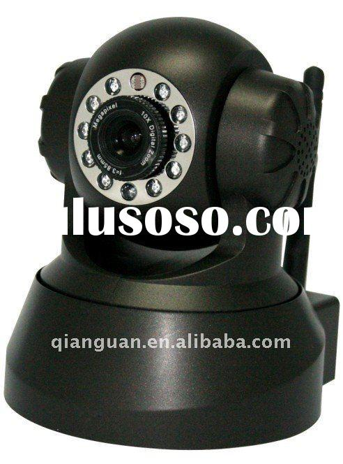 wifi ip camera,pt infred ip camera,Support Iphone, 3G phone , Smartphone Control and Surveillance