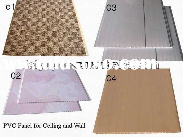 woode pattern pvc ceiling and wall panel for decorative