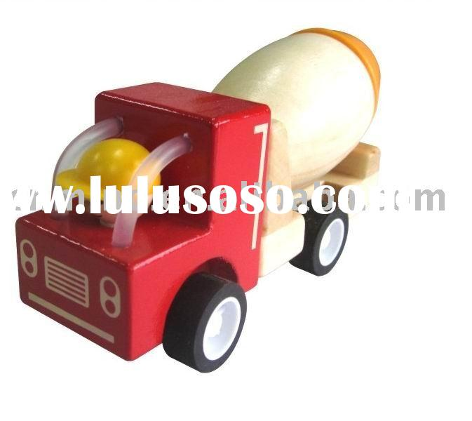wooden mini toy car