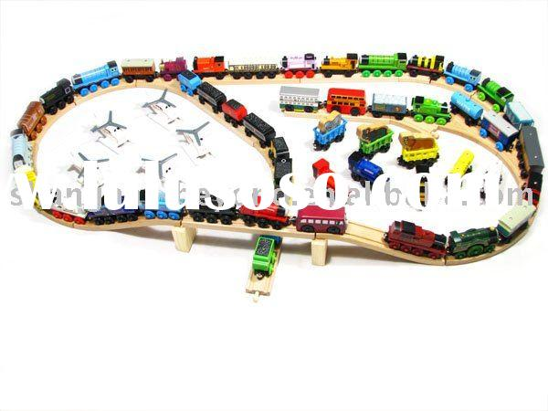 wooden toy car,wooden toy Thomas Tank Engine Magnetic