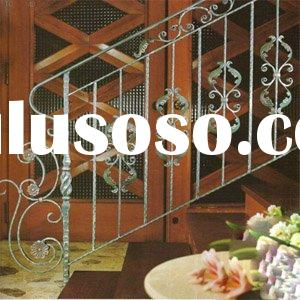 wrought iron stairs hand rail