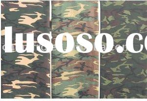 100% Cotton Twill Camouflage Printed Fabric 21*21*108*58 60""