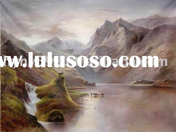 100% hand painted landscape oil painting