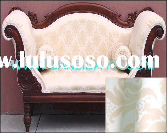 100% polyester inherently flame retardant upholstered fabric