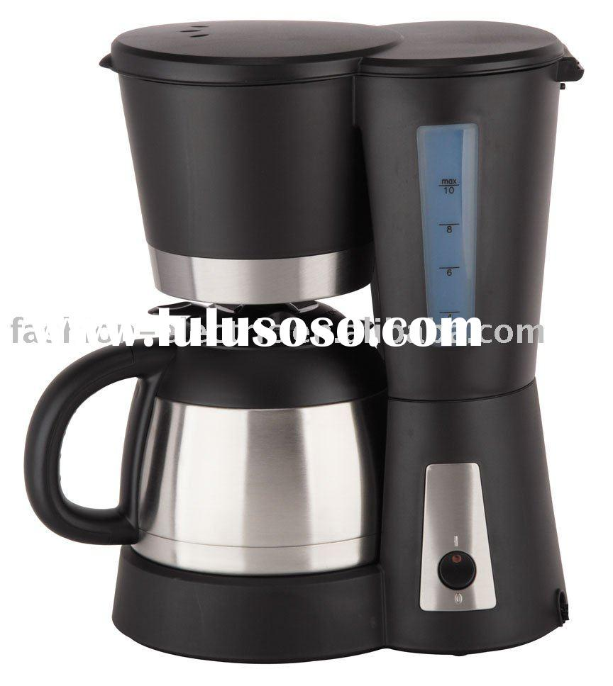 10 cups Electric Coffee Maker with stainless steel jug for sale - Price,China Manufacturer ...