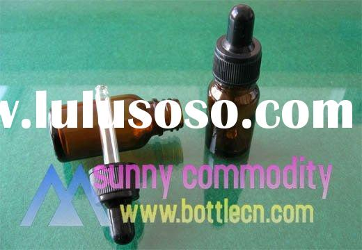 10ml Amber Glass Bottle With Dropper