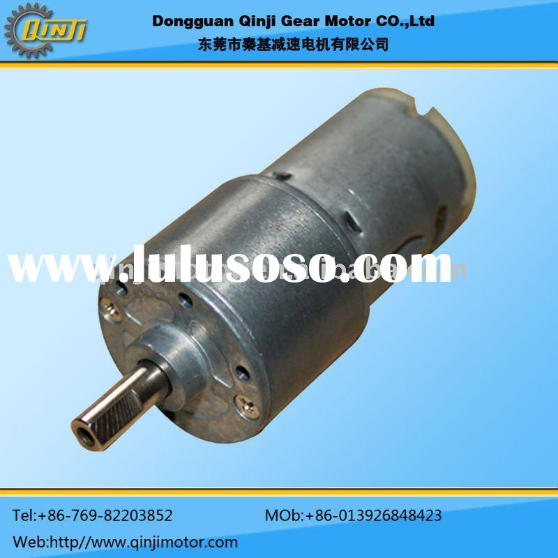 12V DC Gear Motor used for electronic toys,small micro electric motor with reduction gearbox with hi