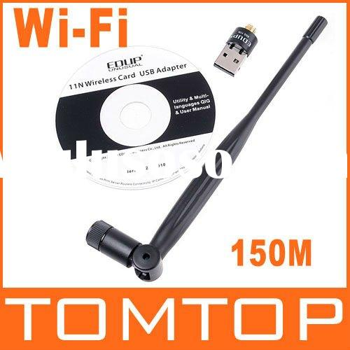 150M Mini USB Wifi Wireless Lan Adapter 5DBI Antenna