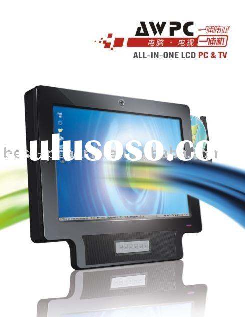 19inch all in one lcd pc &Tv ,lcd monitor &pc , lcd all in one pc ,pc tv ,