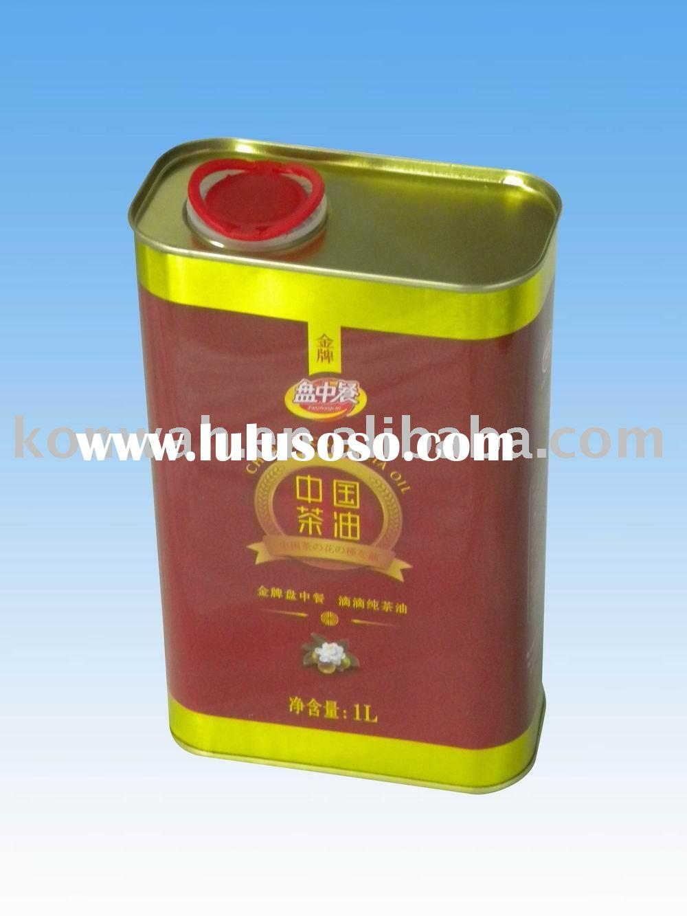 1L olive oil tin can