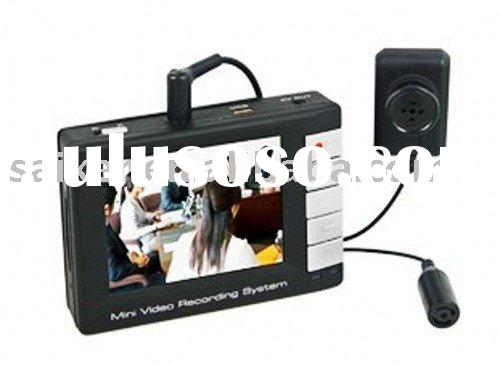 1/3-inch Color Sony CCD Hidden Camera with Wireless Remote Control