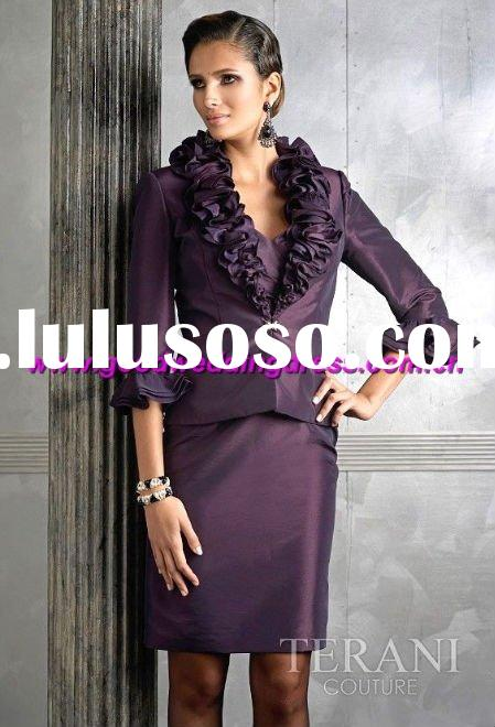 2011Hot-selling mother of bridal dress /mother of wedding dress/mother of the bride evening dress/mo