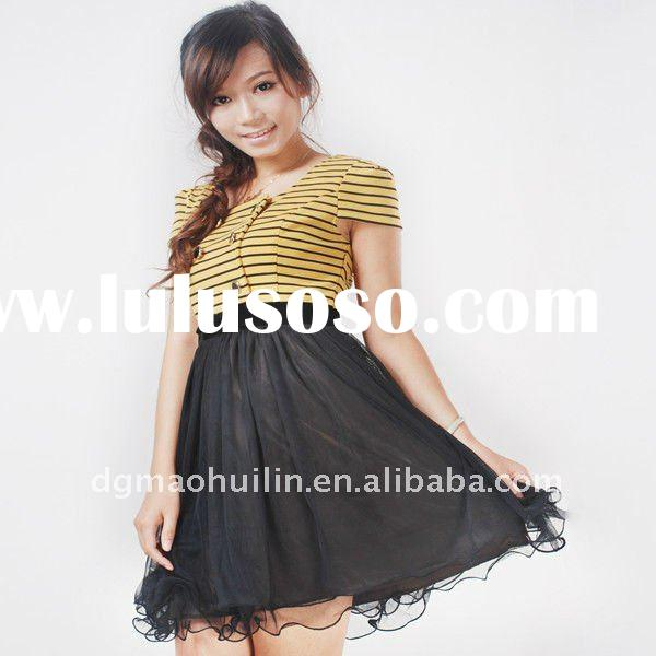 2011 AW new fashion style ladies smart casual dress