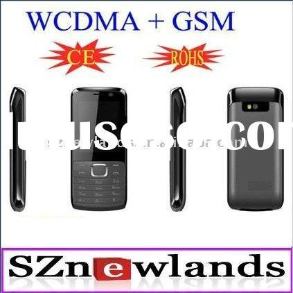 2011 Cheapest W+G WCDMA + GSM Dual Model 3G Video Calling Mobile Phone W102 with Camera Bluetooth Ja