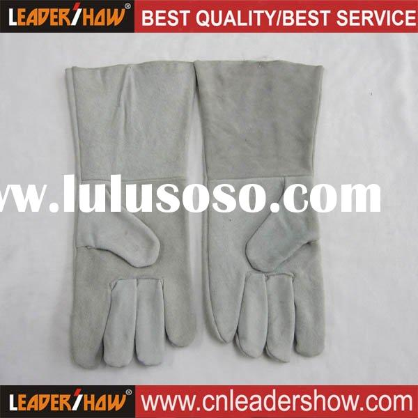 2011 Durable cow leather welding glove