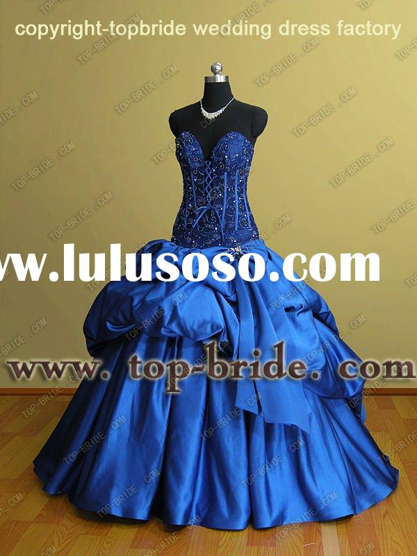 2011 Saudi Arabia Fashion Wedding Bridal Gowns/Dresses Special Professional OEM Factory ABS002