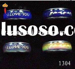 2011 Top Selling Fashion Jewelry Mood Rings Material