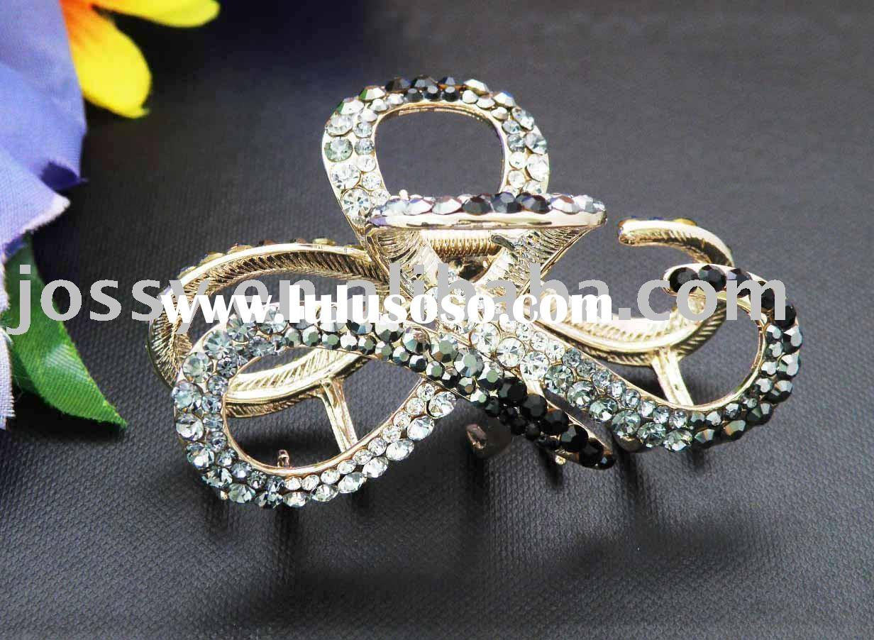 2011 fashion crystal hair accessories,hair claw