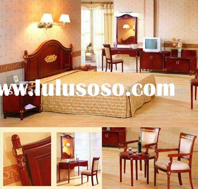 2011 high quality hotel wooden bedroom furniture