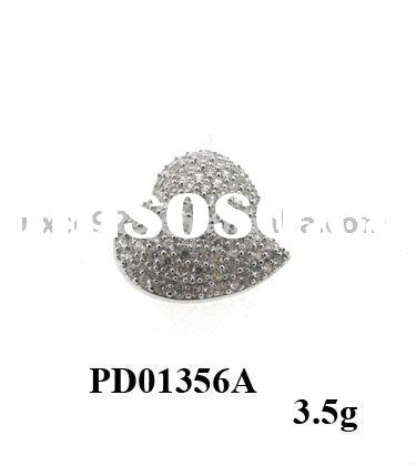 2011 hot sale charming 925 sterling silver pendants and charms