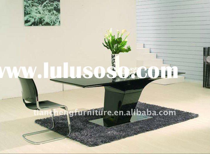 2011 modern high end furniture dinner table