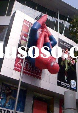 2011 new advertising event inflatable cartoon spider man