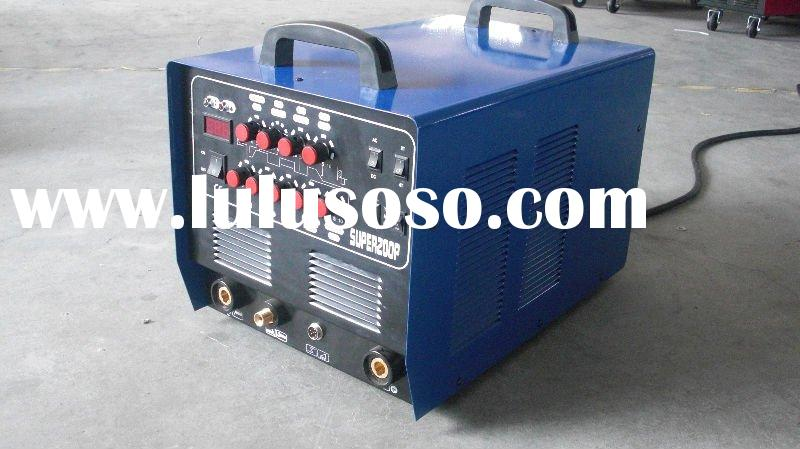 2011 new type Inverter AC DC 3in1 TIG-MMA-CUT welding machine SUPER200P directly from factory