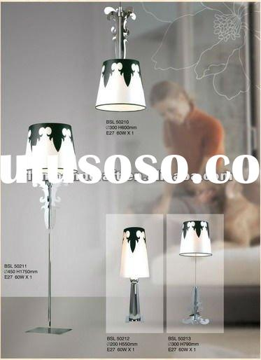 2012 Guzhen Five Star hotel decorative battery operated table lamp