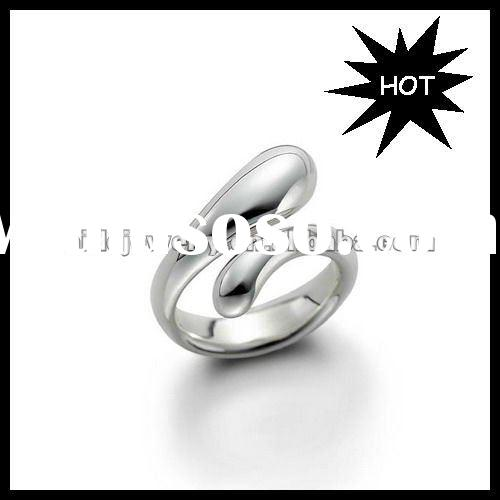 2012 Hot Sales Fashion Silver Finger Ring New Design Ring AR02
