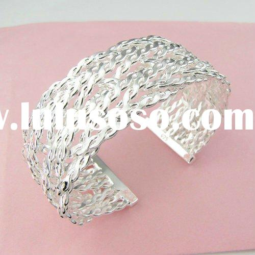 2012 Newest Hot Jewelry 925 Silver Bangle wp040