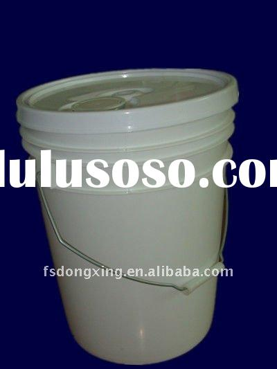 20L food grade white plastic buckets /barrels with lids