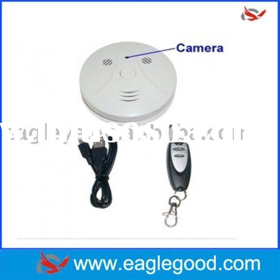 2.0MP CMOS Sensor Hidden Camera DVR Video Smoke Detector (EG-S48)