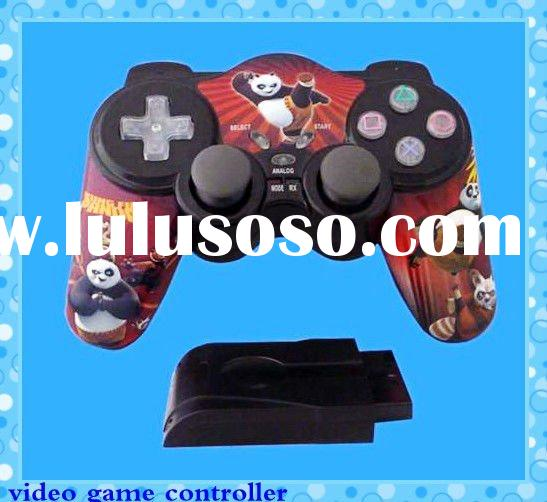 2.4G wireless video game controller for ps2